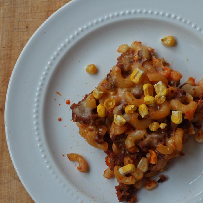 Corn Macaroni