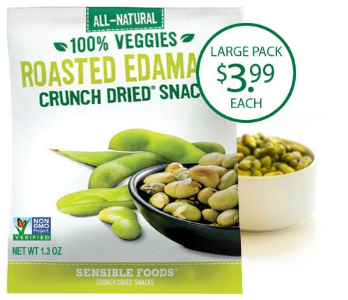 Roasted Edamame (12 Count/2.6 Oz. Pouch)