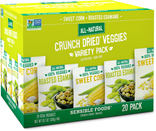 Variety Pack. Corn & Edamame (20 Count/.32-.37 Oz Pouch)