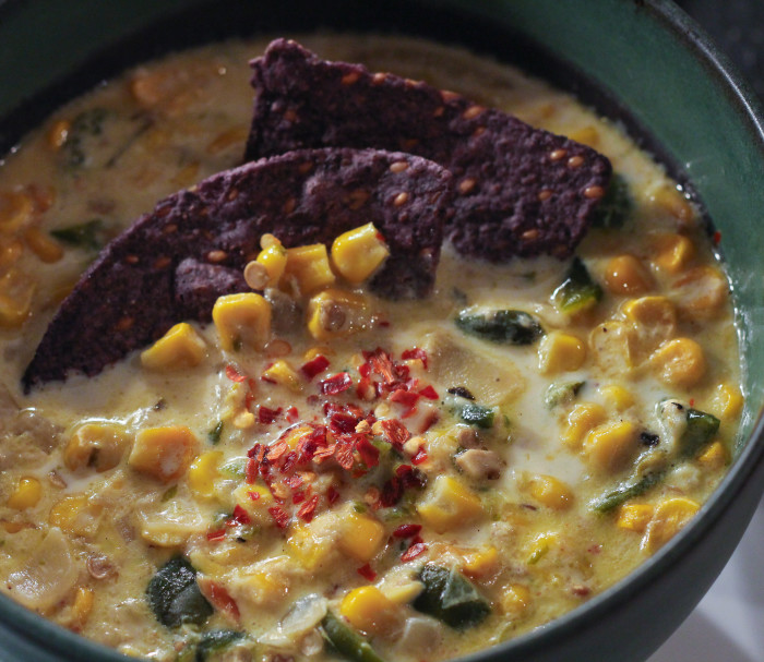 Corn Poblano Soup 2