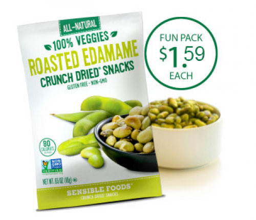 Roasted Edamame (48 Count/.65 Oz. Pouch)